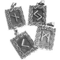 thumb-Amulett Rune, Isa-2