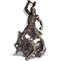 thumb-Thor aus Polyresin, bronziert-1