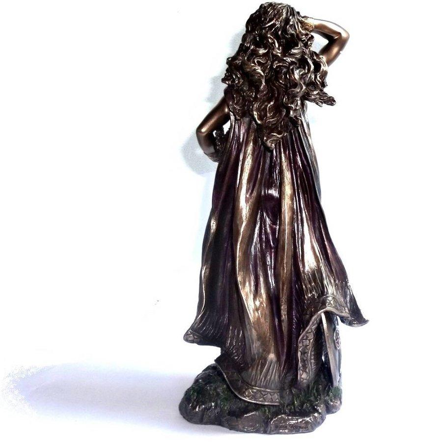 Freya aus Polyresin, bronziert-3