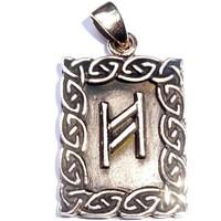 thumb-Amulett Rune, Hagalaz-3