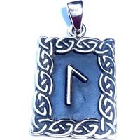 thumb-Amulett Rune, Laguz-3