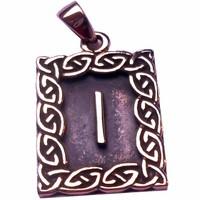 thumb-Amulett Rune, Isa-1