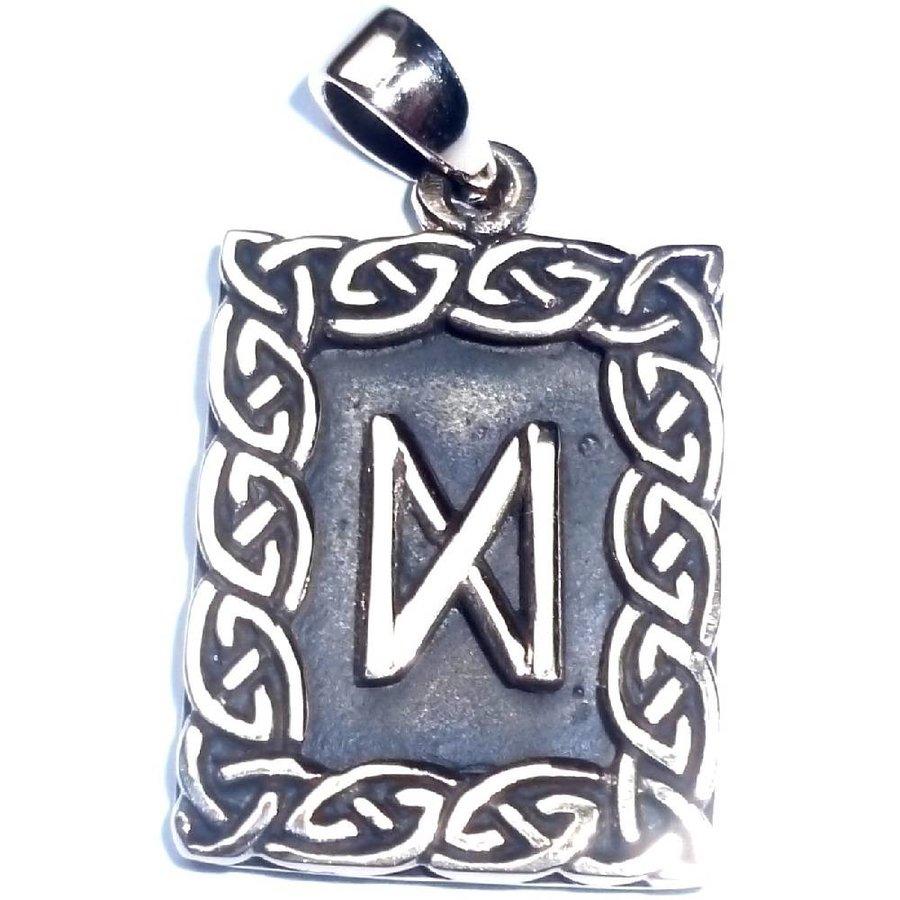 Amulett Rune, Dagaz Anhänger-2