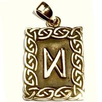 thumb-Amulett Rune, Dagaz Anhänger-1