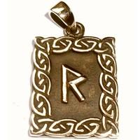thumb-Amulett Rune, Raido-1