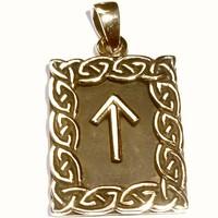 thumb-Amulett Rune, Tiwaz-1