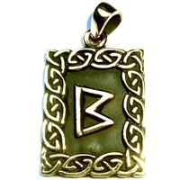 thumb-Amulett Rune, Berkana-2