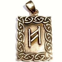 thumb-Amulett Rune, Hagalaz-1