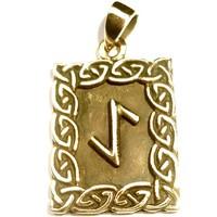 thumb-Amulett Rune, Eihwaz-1