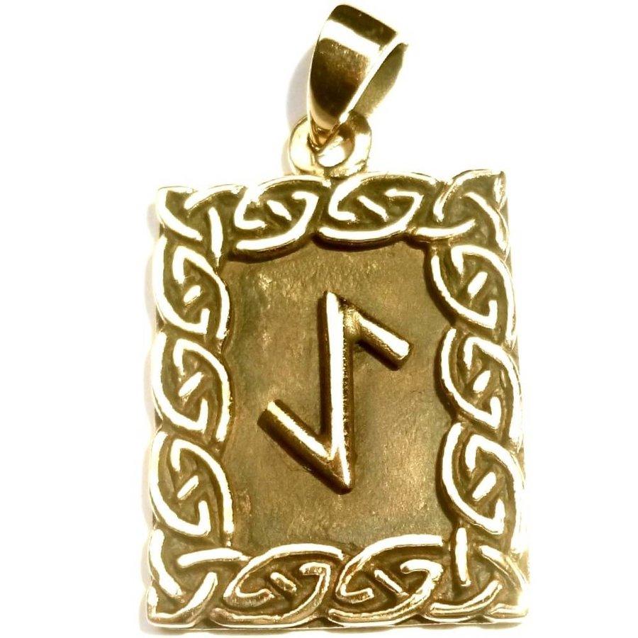 Amulett Rune, Eihwaz-1