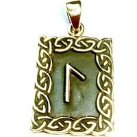 thumb-Amulett Rune, Laguz-1