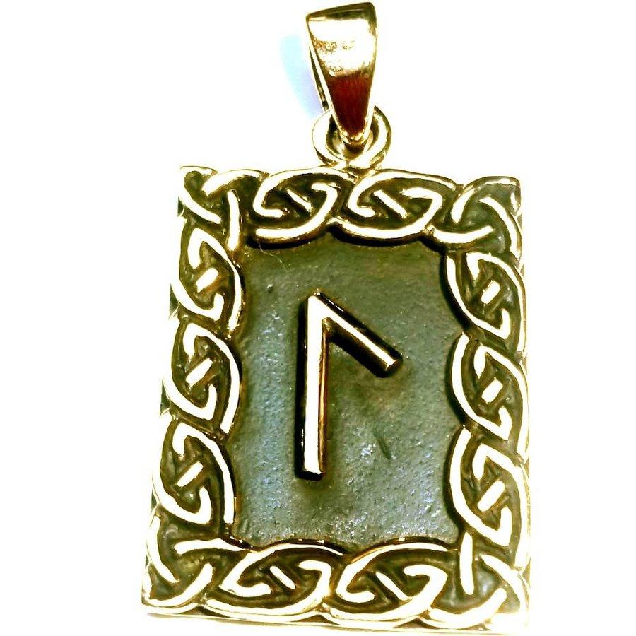 Amulett Rune, Laguz-1