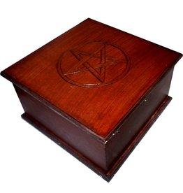 Altarkästchen mit Pentagramm