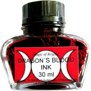 Schreibzeug Magic of Brighid Drachenblut Tinte