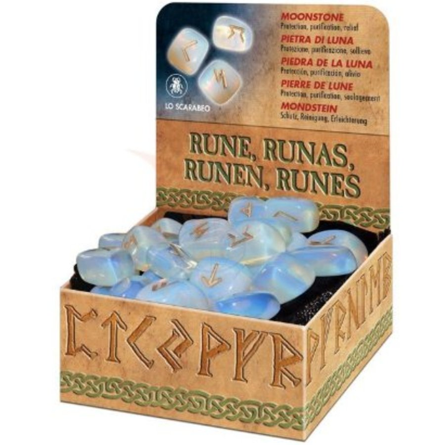 Mondstein Runen in der Geschenkpackung-1