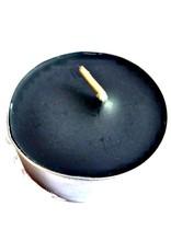 Teelichter, Spitzkerzen und Stabkerzen schwarz