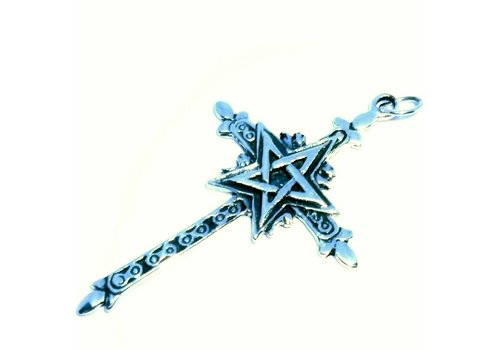 Kreuz mit Pentagramm
