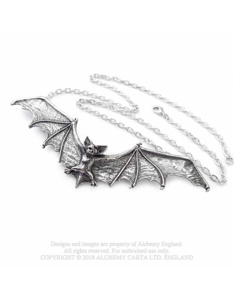 Alchemy Halsketten & Haarschmuck Fledermaus
