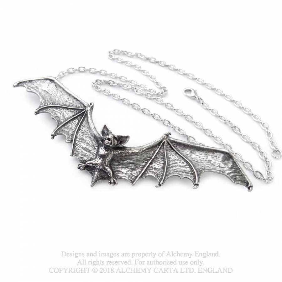 Halsketten & Haarschmuck Fledermaus-3
