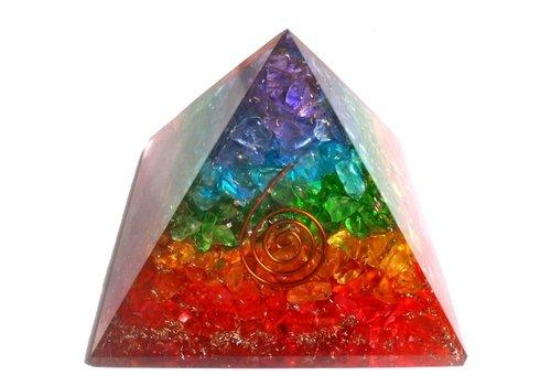 Orgonit Pyramide Regenbogen
