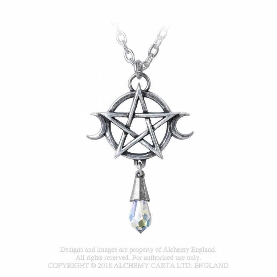 Triple Goddess  mit Pentagramm-1