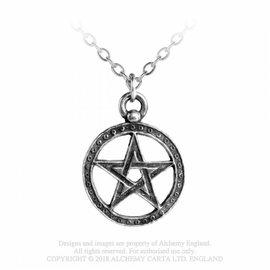 Alchemy Dante's Hex Pentagramm Anhänger