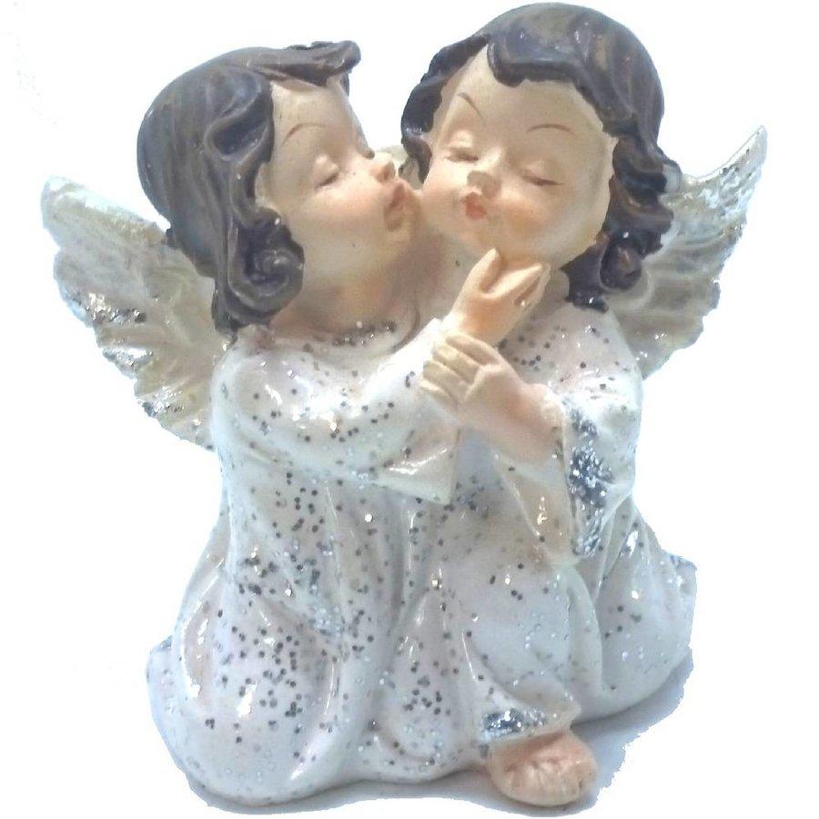 2 Engelpaare kniend und flüsternd-2