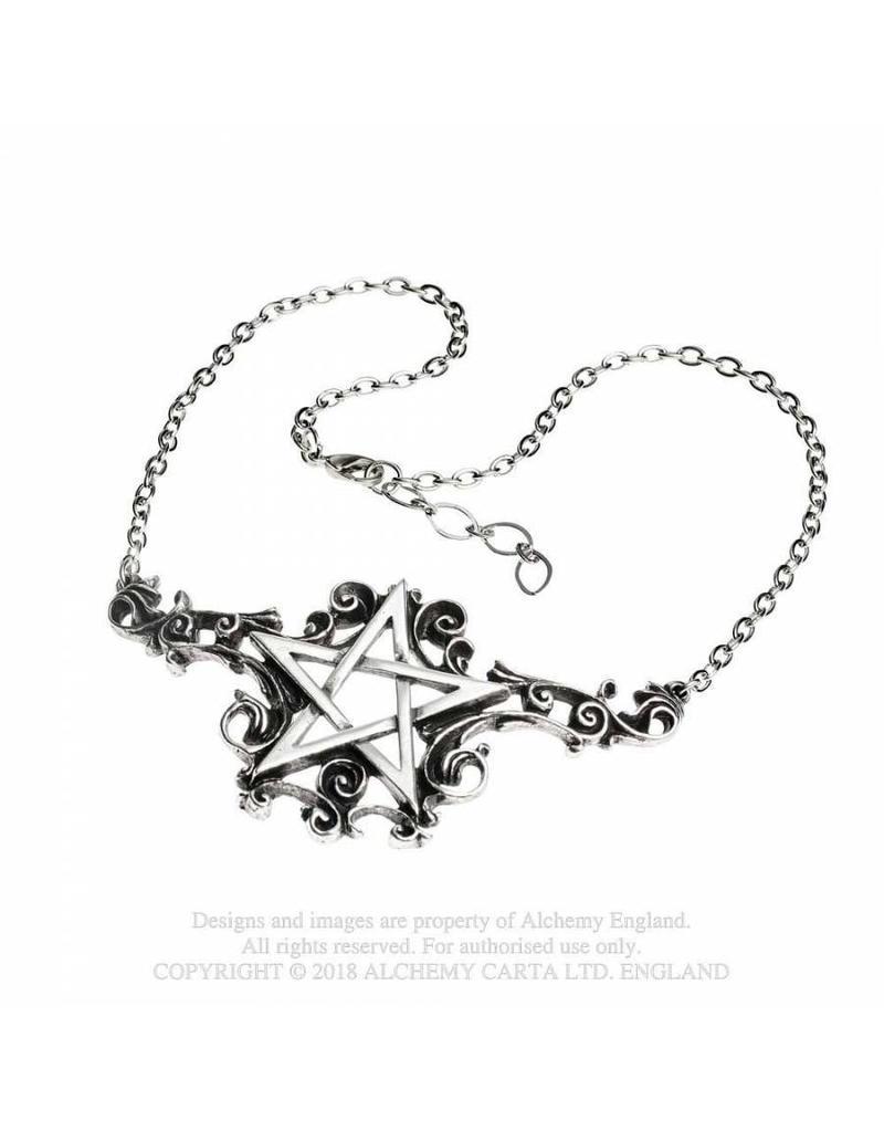 Alchemy Pentagramm Anhänger mit Kette