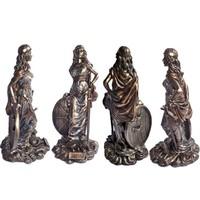thumb-Freya aus Polyresin, bronziert-2