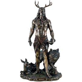 Göttin Götterfigur Cernunnos aus Polyresin