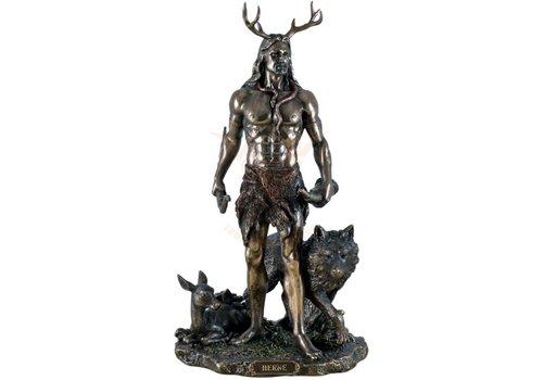 Götterfigur Cernunnos aus Polyresin
