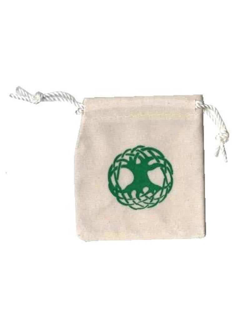 Samtbeutelchen mit Yggdrassil / Irminsul - Motiv
