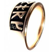 thumb-Ring mit Runen aus Bronze oder aus Silber-5