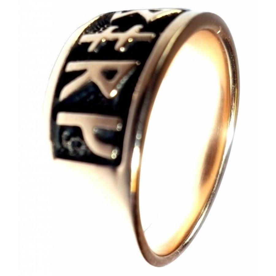Ring mit Runen aus Bronze oder aus Silber-5