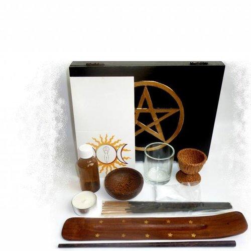 Ritualsets im Kästchen, Rituale durchführen