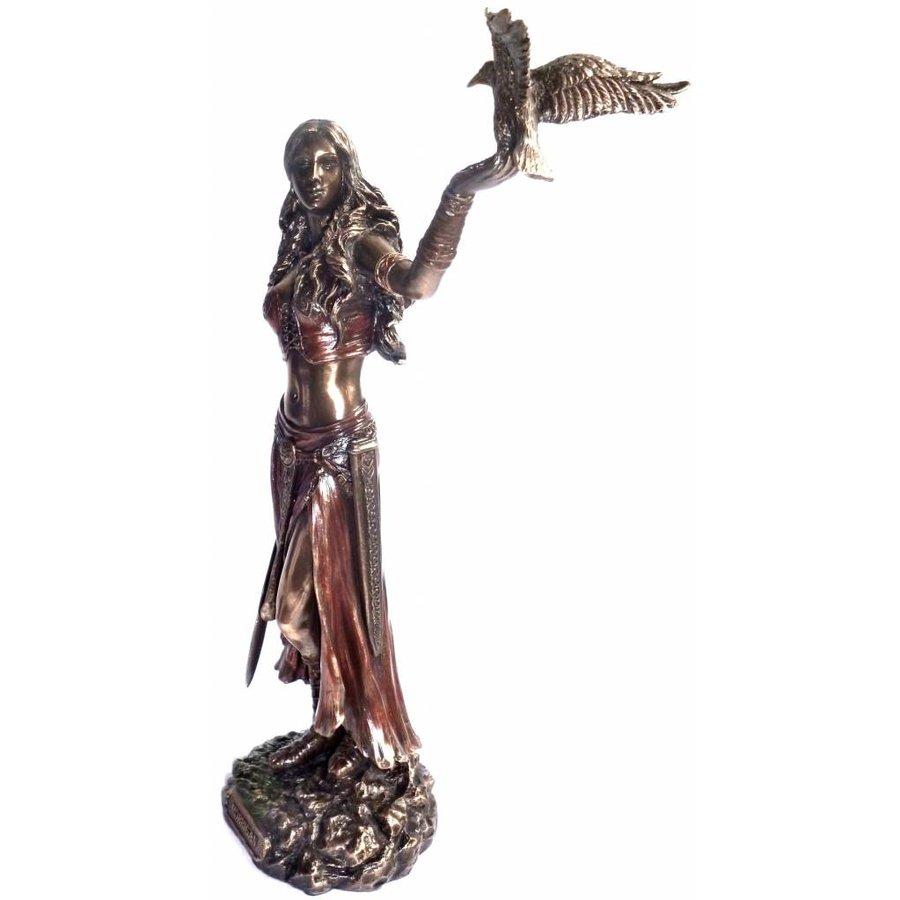 Keltische Göttin der Geburt, der Schlacht und des Todes-3