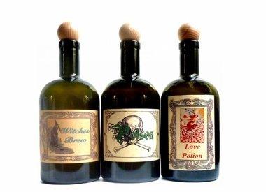 Alchemie Flaschen, Elixierflaschen