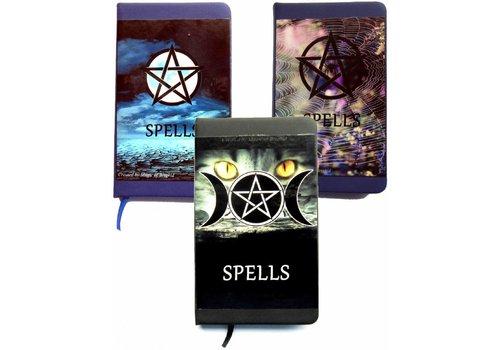 Buch für Zaubersprüche Din A 7