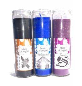 Magic of Brighid N E U : Kerze im Glas, Verschiedene Sorten