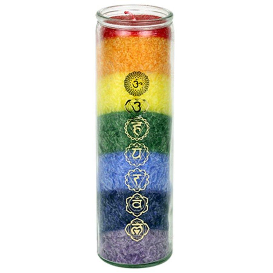 Chakra Kerzen im Glas-3