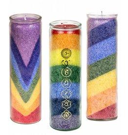 Chakra Kerzen im Glas, Verschiedene Sorten