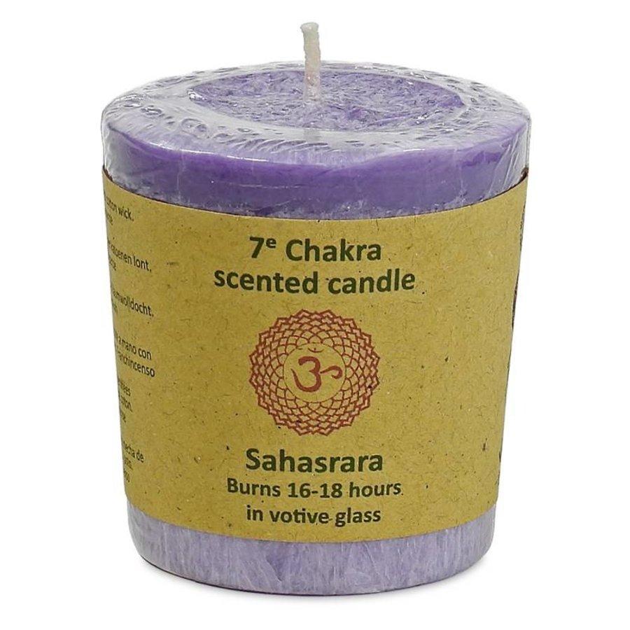 Chakra Votive Kerzen-8