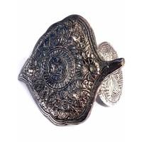thumb-Räucherstäbchenhalter aus Metall in Blattform-6