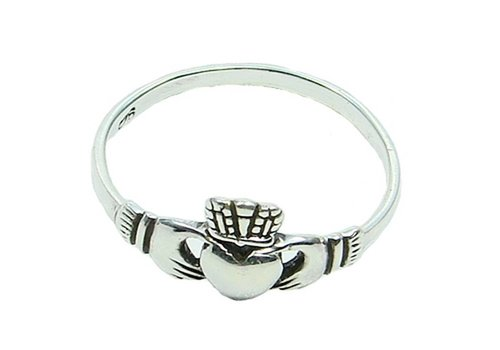 Claddagh 925 Sterling Silber