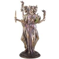 thumb-Hekate, Hexengöttin aus Polyresin, bronziert-4