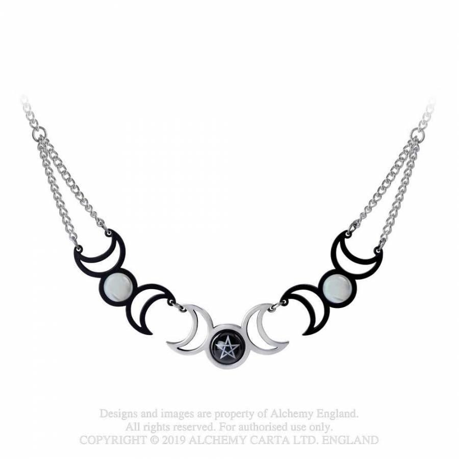 Dreifacher Dreifachmond, Halskette-1