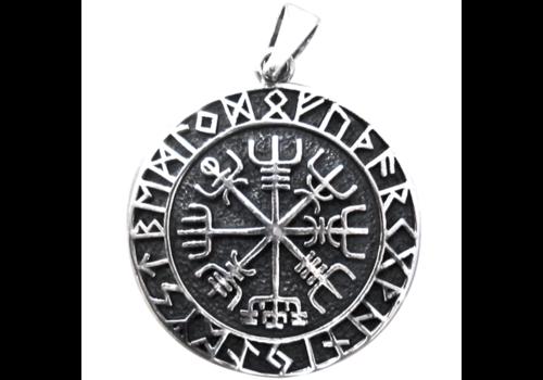 Aegishjalmur im Runenkreis Zinn