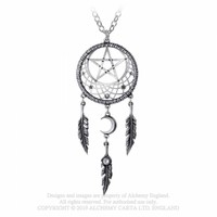thumb-Kettenanhänger Pagan Dream Catcher-2