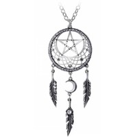 thumb-Kettenanhänger Pagan Dream Catcher-1