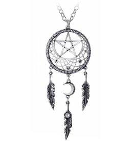 Alchemy Anhänger Traumfänger mit Pentagramm